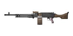 KSP 58 LIGHT MACHINE GUN | Moctezuma, Broken-In
