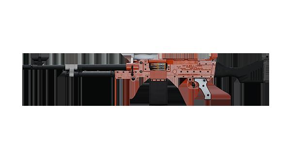 KSP 58 LIGHT MACHINE GUN | Opulent, Broken-In