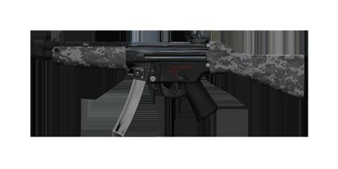 COMPACT-5 SUBMACHINE GUN | Nightstalker, Well-Used