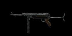 MP40 SUBMACHINE GUN | Tarnschmeisser, Broken-In