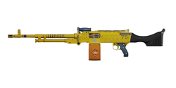 KSP 58 LIGHT MACHINE GUN | Bulldozer, Mint-Condition