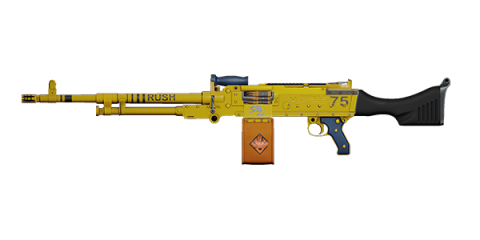 KSP 58 LIGHT MACHINE GUN | Bulldozer, Lightly-Marked