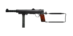 SWEDISH K SUBMACHINE GUN | Copper Green, Broken-In