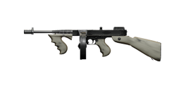 CHICAGO TYPEWRITER SUBMACHINE GUN | Pallido Madre, Lightly-Marked