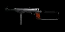 SWEDISH K SUBMACHINE GUN | Copper Green, Battle-Worn