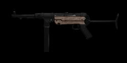 MP40 SUBMACHINE GUN   Classic Finish, Battle-Worn