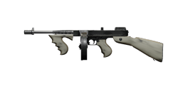 CHICAGO TYPEWRITER SUBMACHINE GUN | Pallido Madre, Battle-Worn