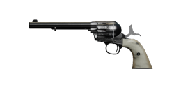 PEACEMAKER .45 REVOLVER | Justice Pearl, Well-Used
