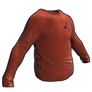 Orange Longsleeve T-Shirt