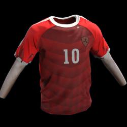 Rust Footballer Shirt