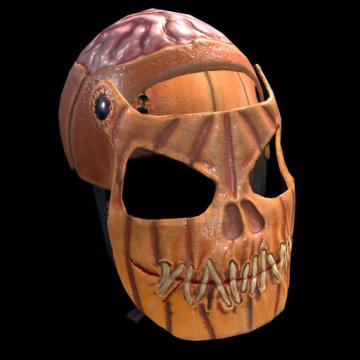 Evil Pumpkin Facemask