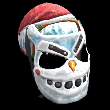 Evil Snowman Mask