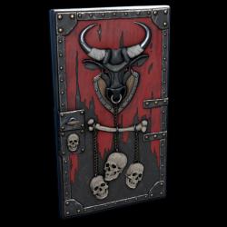 Bull Rage Door