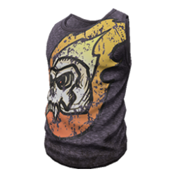 Skin: Flaming Skull Tanktop