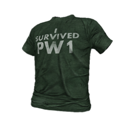 Skin: PW1 Survivor T-Shirt