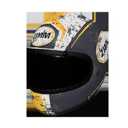 Skin: Zimms Yellow Racing Helmet
