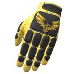 Skin: Golden Eagle Padded Gloves
