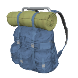Skin: Blue Survivor Backpack