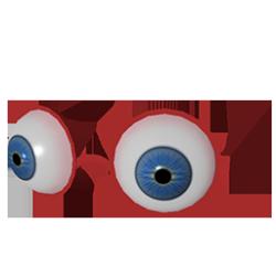 Evil Clown Glasses