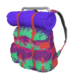 Neon Splatter Survivor Backpack