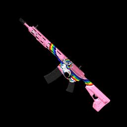 Rainbow Unicorn AR-15