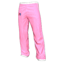 Twin Galaxies Warmup Pants (Pink)