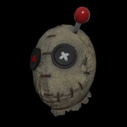 Voodoo Doll Mask