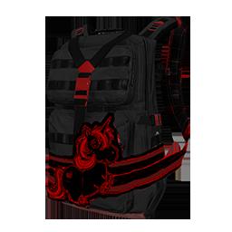 Nightmare Unicorn Military Backpack