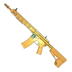 Gold Season 2 Showdown AR-15