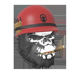 Gorilla Warpaint Mask