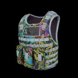 Graffiti Tactical Body Armor