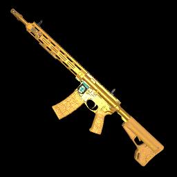 (含特效)Gold Season 2D Showdown AR-15