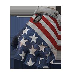 All American Fingerless Gloves