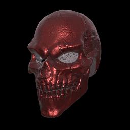Red Bone Full Helmet