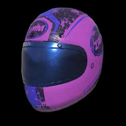 Zimms Lavender Racing Helmet