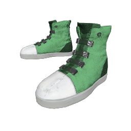 Faded Green Freestyle Sneakers
