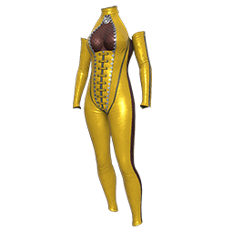 Vixen Yellow Suit