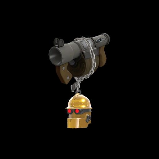 Strange Gold Botkiller Stickybomb Launcher Mk.II