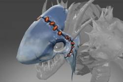 Inscribed Shark Cowl