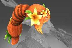 Inscribed Spring's Lilium Crown