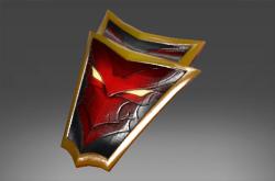 Crimson Wyvern Shield