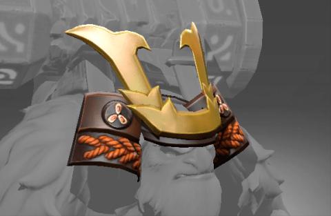 铭刻 武士之魂头盔