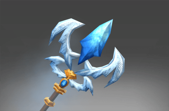 Auspicious Staff of the Frozen Feather