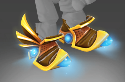 Corrupted Mecha Boots of Travel Mk III