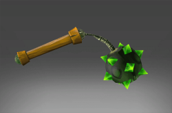 Inscribed Emerald Frenzy Flail