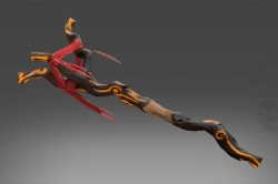 Inscribed Staff of Infernal Chaos