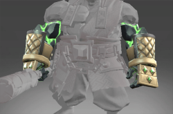 Plated Bracers of the Demon Stone