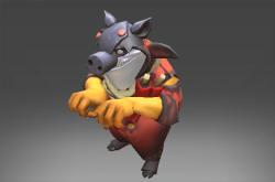 Inscribed Swine Visor