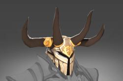 Inscribed Helm of the Unbroken Stallion