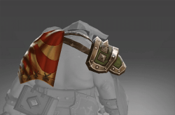 Pauldron and Cloak of the Antipodeans